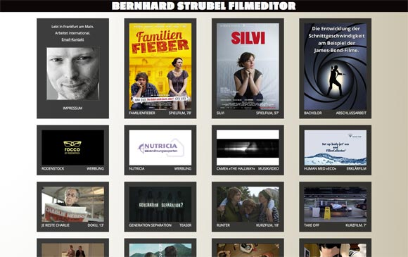 www.bernhard-strubel.de Screenshot