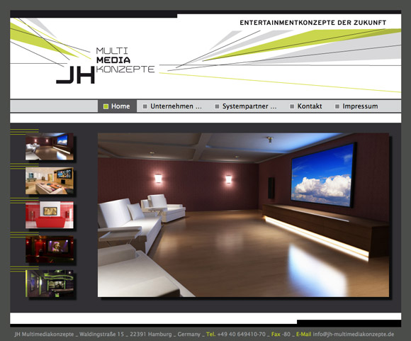 www.jh-multimediakonzepte.de Screenshot