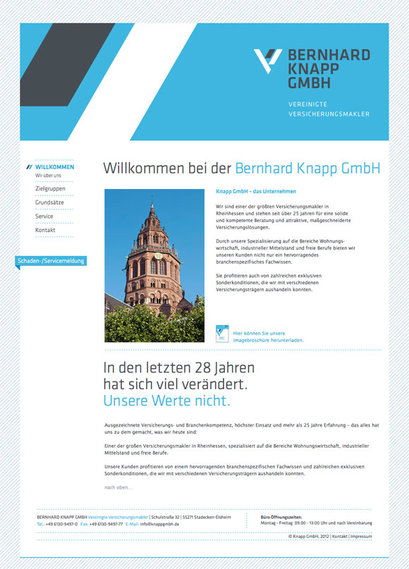 www.knappgmbh.de Screenshot