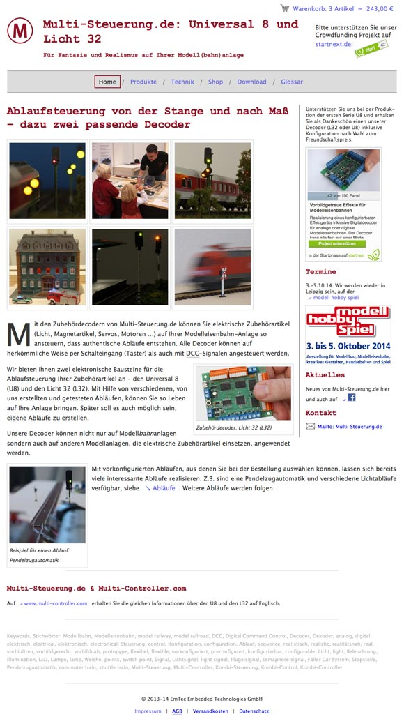 www.multi-steuerung.de Screenshot